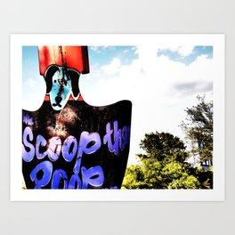Scoop It Art Print