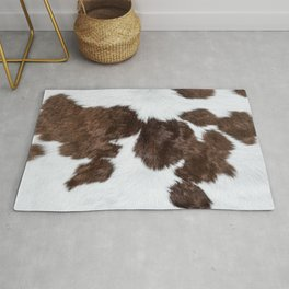 Beef bull cow cows pattern decoration Rug
