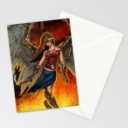 Out of the Fire Stationery Cards