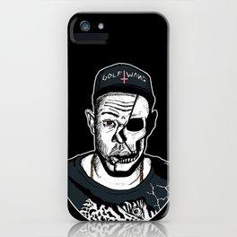 Golf Wang - Tyler The Creator Skull Ink Print iPhone Case