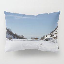Mt Hermon in Snow Pillow Sham