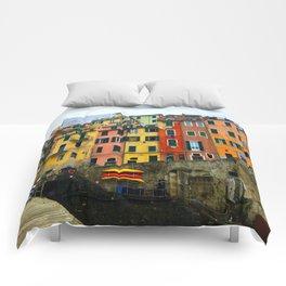 Cinque Terre - Riomaggiore Comforters