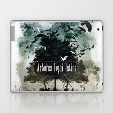 arbores loqui latine Laptop & iPad Skin
