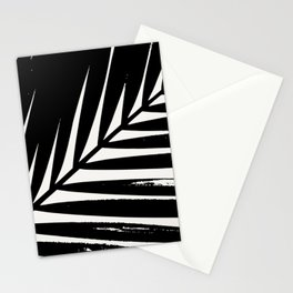 Palm Leaf Silhouette Stationery Cards