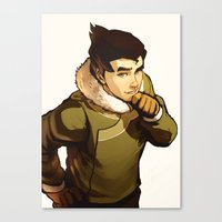 returns Canvas Prints featuring Bolin Returns by Caleb Thomas