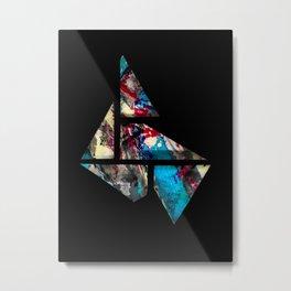 tangram Metal Print