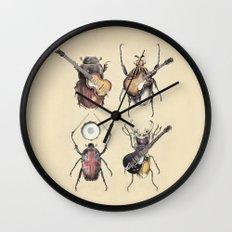Meet the Beetles Wall Clock