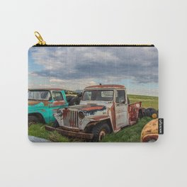 Rusty Car Row 9 Carry-All Pouch