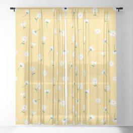 Little Daises Sheer Curtain