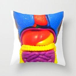 """PLASTIC ANATOMY"" ...shirt/ iphone case Throw Pillow"