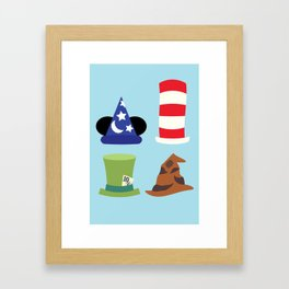 Magic in a Hat Framed Art Print