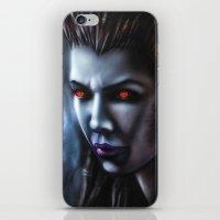 starcraft iPhone & iPod Skins featuring Kerrigan  by Kanelov