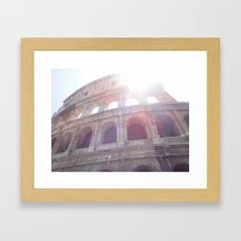 The Sun Keeps Shinin' Framed Art Print