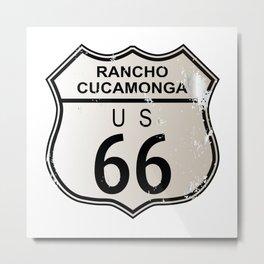 Rancho Cucamonga Route 66 Metal Print