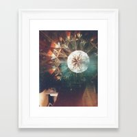 trippy Framed Art Prints featuring Trippy by Hannah Young