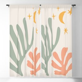 Henri Matisse Inspired Cut Outs 01 Blackout Curtain