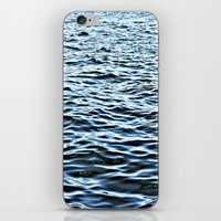 oslo iPhone & iPod Skins featuring Oslo Fjord by Tora Wolff Craft