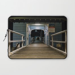 Afterdark on Palm Beach Wharf Laptop Sleeve