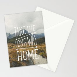 TAKE THE LONG WAY Stationery Cards