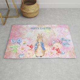 Hoppy The Bunny 3-Hoppy Easter Rug