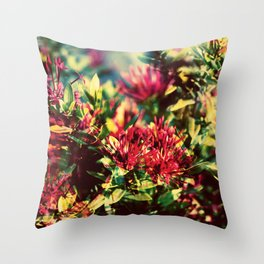 Double Exposure - Hana Throw Pillow