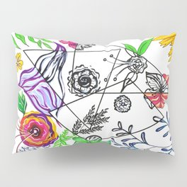 Bet You Guessed I Like Flowers Pillow Sham