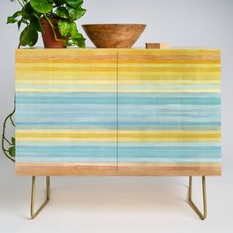 Colorbands Yellowstone Yellow Credenza