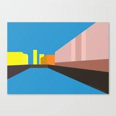 Berlin Perspectives - Palast der Republik Canvas Print