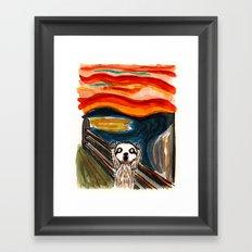 Sloth's Scream  Framed Art Print