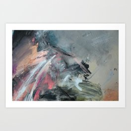 sonnet xvii abstract #3 Art Print