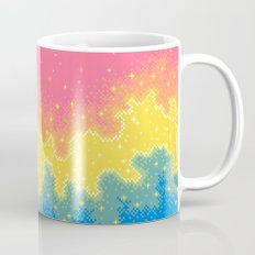 Pan Pride Flag Galaxy Mug