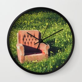 """""""A place for me"""" 2017 Wall Clock"""