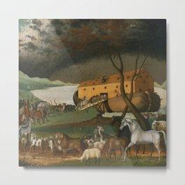Edward Hicks's Noah's Ark Metal Print