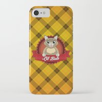 lil bub iPhone & iPod Cases featuring Lil Bub by memetronic