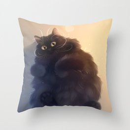 22 pounds of fun Throw Pillow