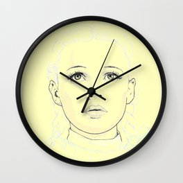 Dorothy - The Yellow Pathway Wall Clock
