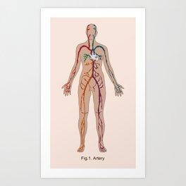 ARTery Art Print