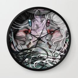 The duality will kill her Wall Clock