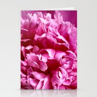 peony Stationery Cards featuring Peony by IowaShots