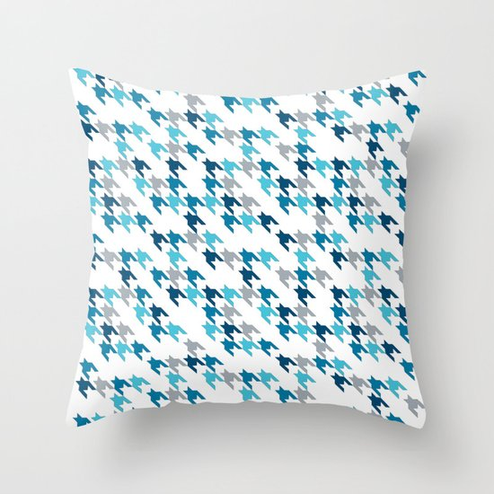 Blue Tooth #2 Throw Pillow