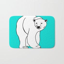 The Breathtaking Polar Bear Bath Mat