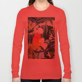The Distracted Reader Long Sleeve T-shirt