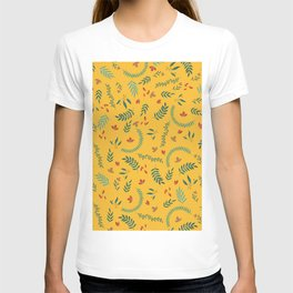 Leves in Yellow Ochre T-shirt