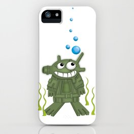 frogmen iPhone Case