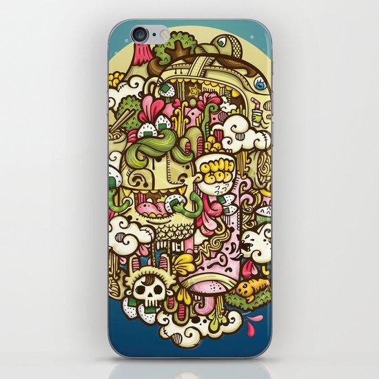 Midnignt Hunger iPhone & iPod Skin