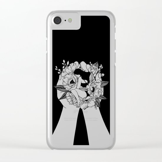 Natural Woman Clear iPhone Case