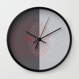 Confused lines Wall Clock