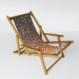 Tortilla brown Glitter effect - Sparkle and Glamour Sling Chair