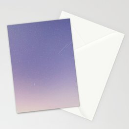 Soft Milky Way Stationery Cards