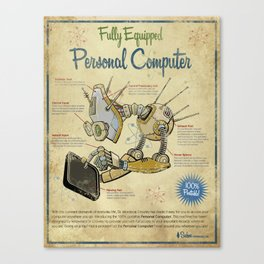 Personal Computer - Canvas Canvas Print